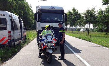 Hapert / Asten / Venlo – Politiecontrole A67, 33 bellers gespot