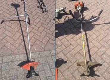 Breukelen – Gezocht – Gestolen tuingereedschap gevonden langs A2