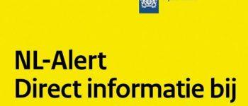 Maandag 3 juli landelijk controlebericht NL-Alert