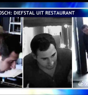 Den Bosch – Gezocht – Diefstal uit restaurant in centrum Den Bosch