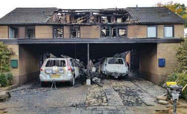 Epe – Branden in Epe, politie doet onderzoek