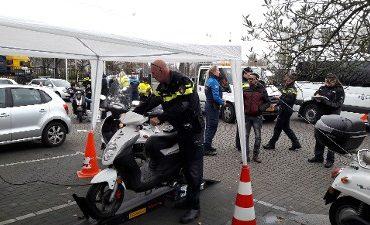 Rotterdam – Actie brommer- en scooterrijders na veel klachten