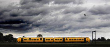 Per direct treinverkeer gestaakt tot nader order…..