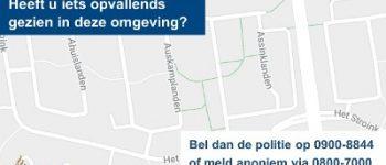 Enschede – Politie zoekt nog steeds getuigen na aantreffen man met schotwond