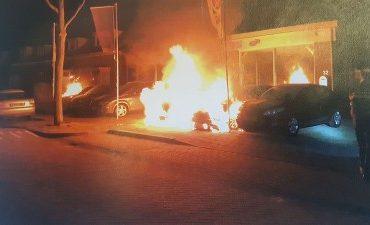 Oss – Onderzoek naar brandstichting bij autobedrijf