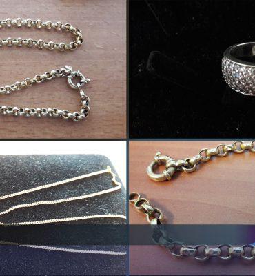 Gezocht – Sieraden en horloges aangetroffen bij inbreker
