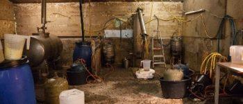 Zuidlaren – Zes aanhoudingen bij inval in loods