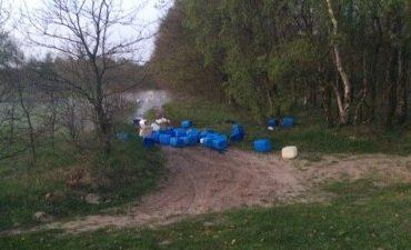 Veghel – Onderzoek naar grote dumping afval synthetische drugs Vlagheide
