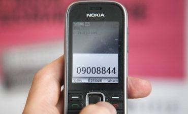 Meld verdacht gedrag, Politie telefoonnummers hieronder op een rijtje: