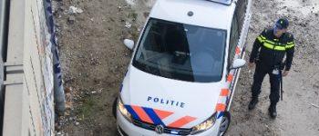 Rotterdam – Aanhouding voor botsing hoogwerker Suurhoffbrug