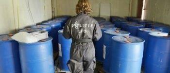 Zuidbroek – Twee aanhoudingen na aantreffen chemicaliën voor synthetische drugs