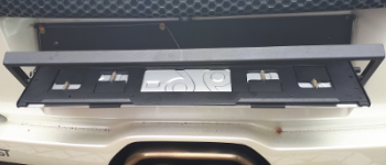 Schiedam – Autobestuurder met kantelende kentekenplaat aangehouden