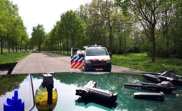 Dordrecht – Politie rukt uit voor nepwapens