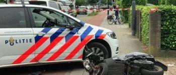 Vught – Scooterrijder gewond na botsing met politieauto