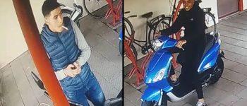 Rijswijk – Gezocht – Diefstal spiegels van scooter  Ocarinalaan Rijswijk