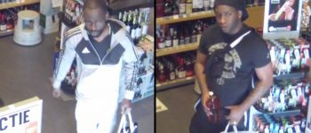 Den Haag – Gezocht – Whisky gestolen bij diefstal uit slijterij Theresiastraat Den Haag