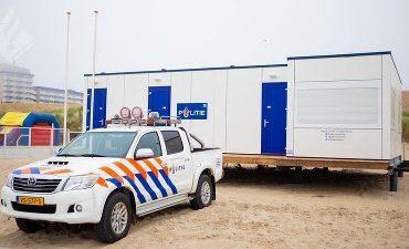 Den Haag – Tijdelijke politieposten Kijkduin en Scheveningen weer in gebruik