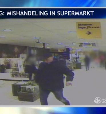Tilburg – Gezocht – Mishandeling in supermarkt