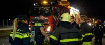 Utrecht – Politie zoekt getuigen brand Marshalllaan