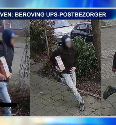 Eindhoven – Gezocht – Beroving UPS-postbezorger