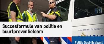 Eindhoven, Den Bosch – Inbreker (19) op heterdaad gepakt dankzij buurtpreventieteam