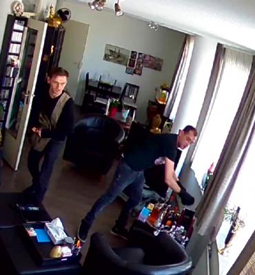 Rotterdam – Gezocht – Brutale inbrekers in Kralingen gefilmd