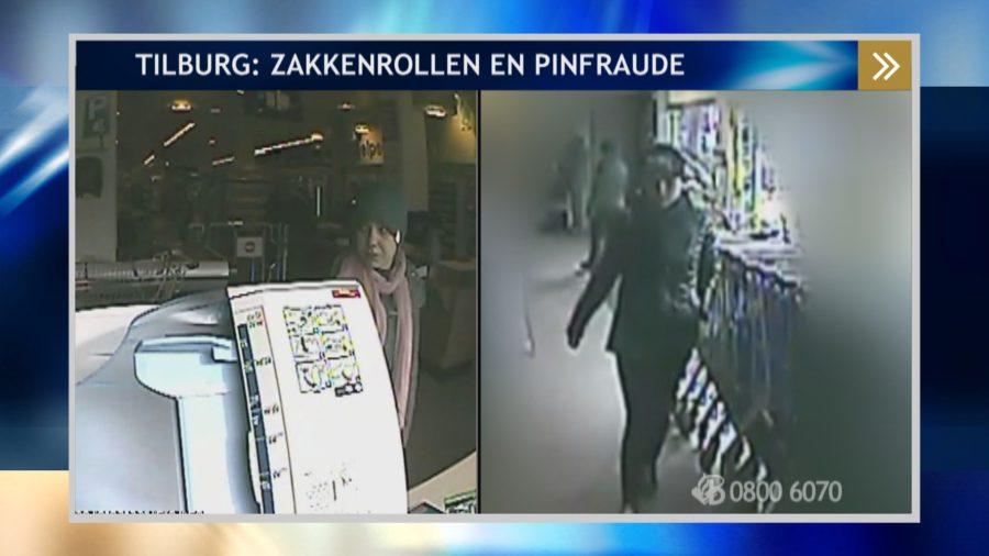 Tilburg – Gezocht – Bejaarde vrouw slachtoffer van zakkenrollers