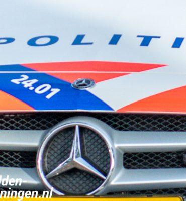 Politie Noord-Nederland neemt nieuwe Mercedessen in gebruik