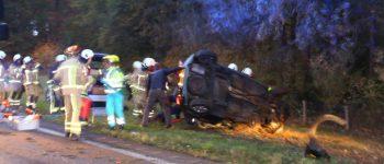 Gasselte – Bij een ongeluk op de N34 tussen Gasselte en Exloo zijn donderdagochtend twee ernstig en twee licht gewonden gevallen. ( Video )