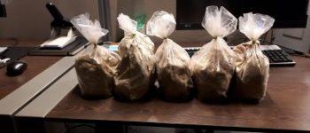 Driebergen, Born – Twee aanhoudingen met vijf kilo heroïne