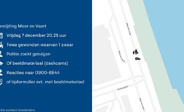Amsterdam – Getuigenoproep ongeval voetgangersoversteekplaats