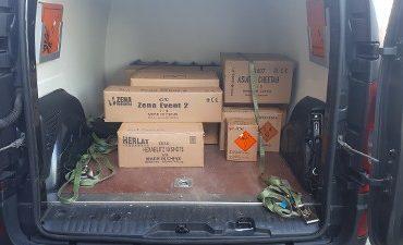 Harmelen – Zwaar vuurwerk onder appartementen gevonden