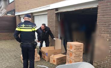 Den Haag – Opnieuw grote vuurwerkvondst na controle door politie