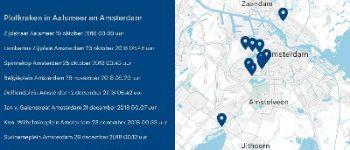 Amsterdam – Twee aanhoudingen in onderzoek naar reeks plofkraken