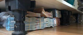 Rotterdam – Zes ton cash onder keukenblok