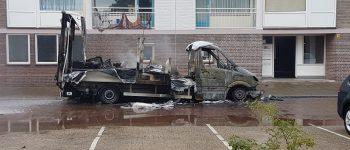 Eindhoven – Gezocht – Vrachtauto vol chemicaliën in brand gezet