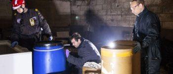 's-Hertogenbosch – Chemicaliën gevonden in garagebox