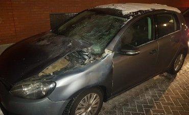 Helmond – Getuigen gezocht van vernieling politieauto