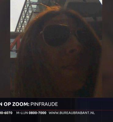Bergen op Zoom – Gezocht – Diefstal bankpas en frauduleus pinnen