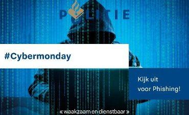 Oost-Brabant – #Cybermonday – Kijk uit voor phishing!