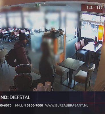 Helmond – Gezocht – Man steelt tas uit Helmondse lunchroom