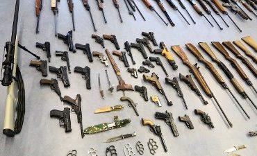 regio Rotterdam – 262 wapens ingeleverd tijdens actie politie