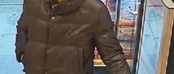 Venray – Gezocht – Verdachte diefstal drogisterij gezocht