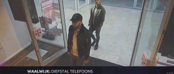 Waalwijk – Gezocht – Diefstal mobiele telefoons in Waalwijk