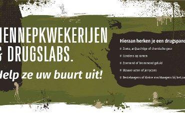 Oost-Brabant – Hennepkwekerijen en drugslabs: help ze uw wijk uit!