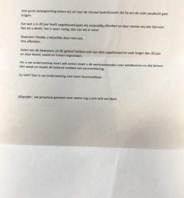 Groningen, Drenthe – Gezocht – Onderzoek incidenten met mogelijke relatie windmolens