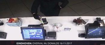 Eindhoven – Gezocht – Beelden daders gewapende overval McDonald's in Bureau Brabant