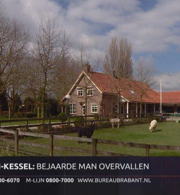 Maren-Kessel – Gezocht – Bejaarde man raakt gewond bij woningoverval Maren-Kessel