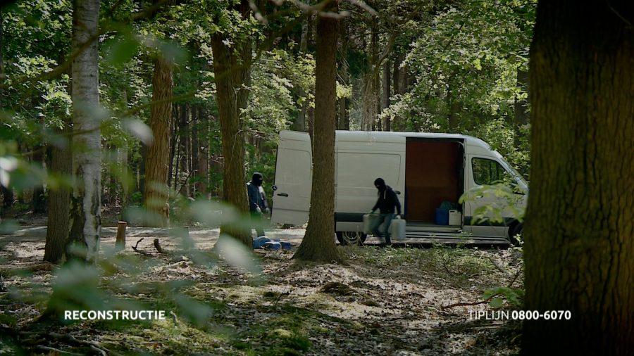 Tilburg – Gezocht – Drugsafvaldumping in natuurgebied