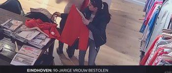 Eindhoven – Gezocht – Diefstal tas van hoogbejaarde dame